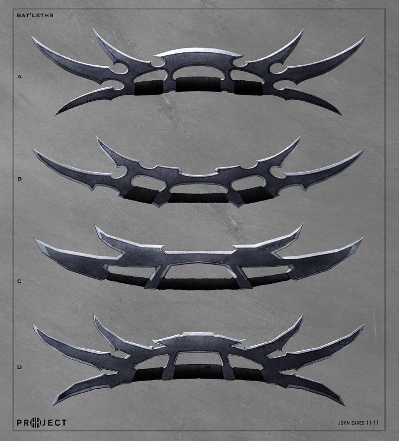 Klingon Ship Into Darkness Bat'leth 1